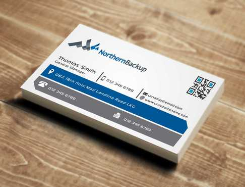 Northern Backup Inc. Business Cards and Stationery  Draft # 69 by DesignBlast