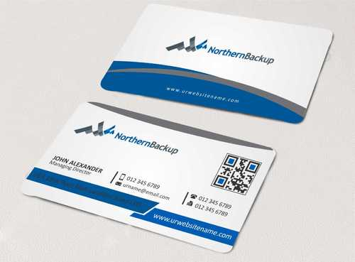 Northern Backup Inc. Business Cards and Stationery  Draft # 70 by DesignBlast