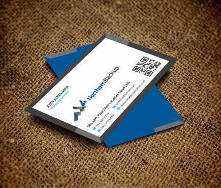Northern Backup Inc. Business Cards and Stationery  Draft # 71 by DesignBlast