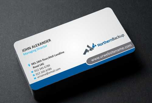 Northern Backup Inc. Business Cards and Stationery  Draft # 72 by DesignBlast