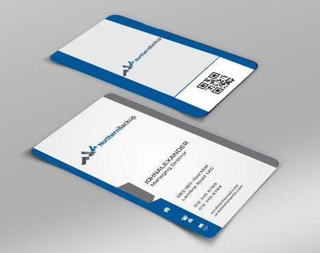 Northern Backup Inc. Business Cards and Stationery  Draft # 76 by DesignBlast