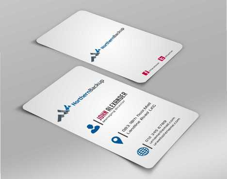 Northern Backup Inc. Business Cards and Stationery  Draft # 77 by DesignBlast