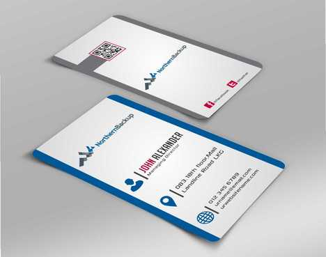 Northern Backup Inc. Business Cards and Stationery  Draft # 79 by DesignBlast