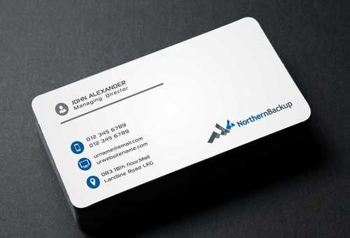 Northern Backup Inc. Business Cards and Stationery  Draft # 80 by DesignBlast