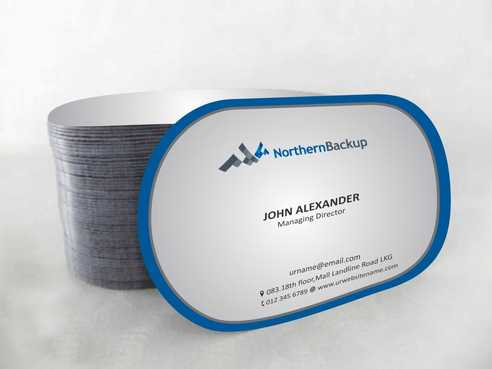Northern Backup Inc. Business Cards and Stationery  Draft # 85 by DesignBlast