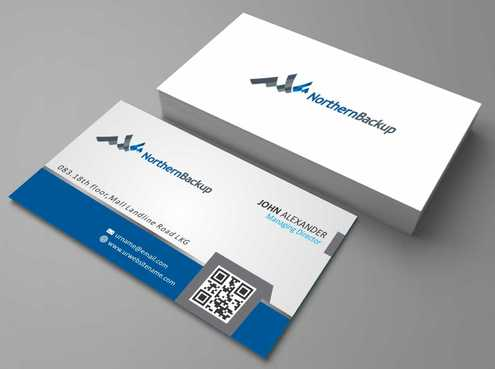 Northern Backup Inc. Business Cards and Stationery  Draft # 87 by DesignBlast