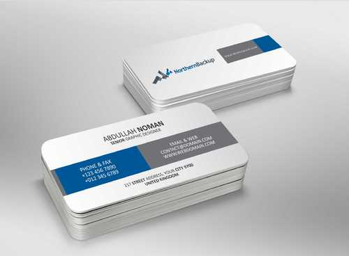 Northern Backup Inc. Business Cards and Stationery  Draft # 88 by DesignBlast