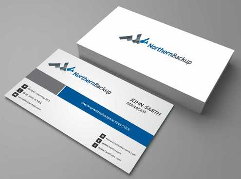 Northern Backup Inc. Business Cards and Stationery  Draft # 89 by DesignBlast