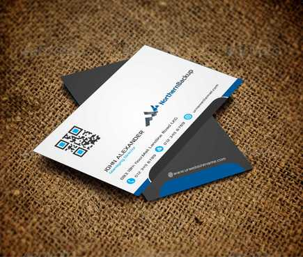 Northern Backup Inc. Business Cards and Stationery  Draft # 93 by DesignBlast