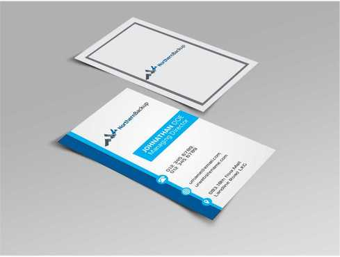 Northern Backup Inc. Business Cards and Stationery  Draft # 94 by DesignBlast