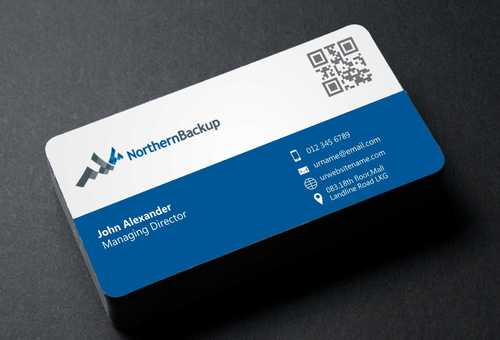 Northern Backup Inc. Business Cards and Stationery  Draft # 95 by DesignBlast