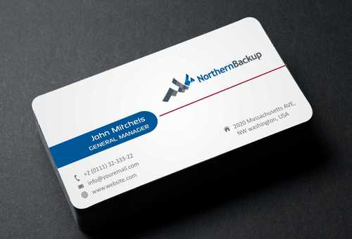 Northern Backup Inc. Business Cards and Stationery  Draft # 100 by DesignBlast