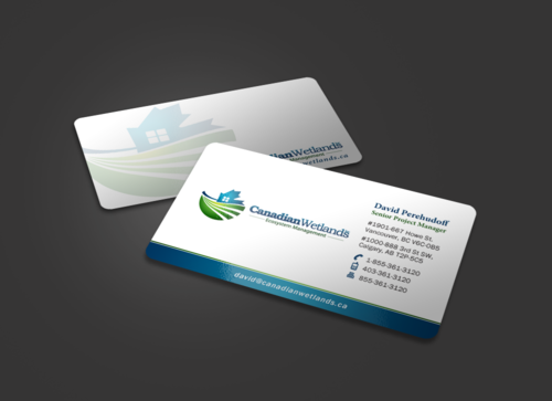 Canadian Wetlands Inc  eco system management Business Cards and Stationery Winning Design by einsanimation