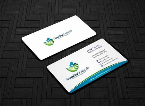 Canadian Wetlands Inc  eco system management Business Cards and Stationery  Draft # 124 by Dawson