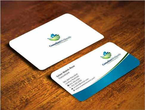 Canadian Wetlands Inc  eco system management Business Cards and Stationery  Draft # 125 by Dawson