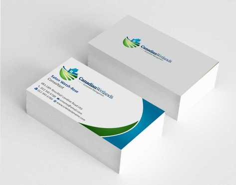 Canadian Wetlands Inc  eco system management Business Cards and Stationery  Draft # 128 by Dawson