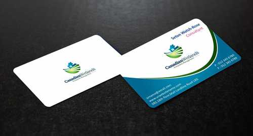 Canadian Wetlands Inc  eco system management Business Cards and Stationery  Draft # 129 by Dawson
