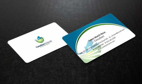 Canadian Wetlands Inc  eco system management Business Cards and Stationery  Draft # 130 by Dawson