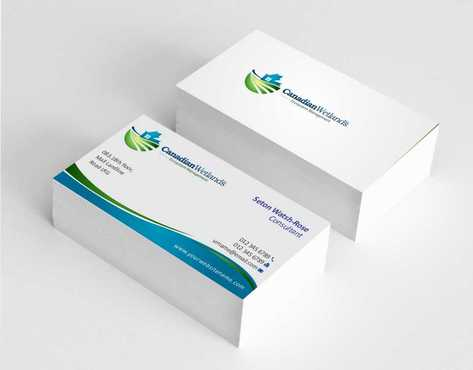 Canadian Wetlands Inc  eco system management Business Cards and Stationery  Draft # 134 by Dawson