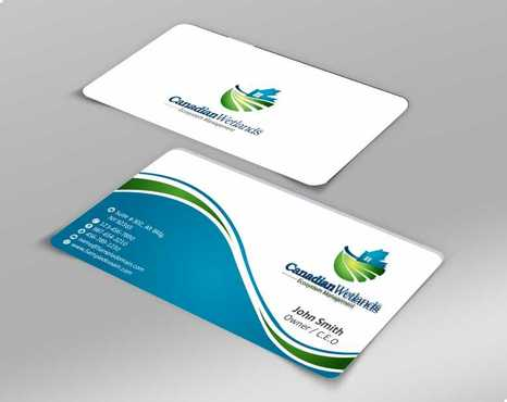 Canadian Wetlands Inc  eco system management Business Cards and Stationery  Draft # 135 by Dawson