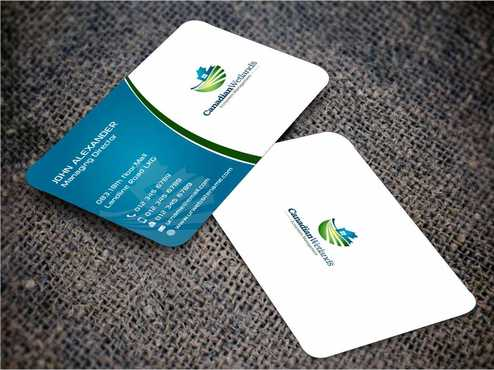Canadian Wetlands Inc  eco system management Business Cards and Stationery  Draft # 140 by Dawson