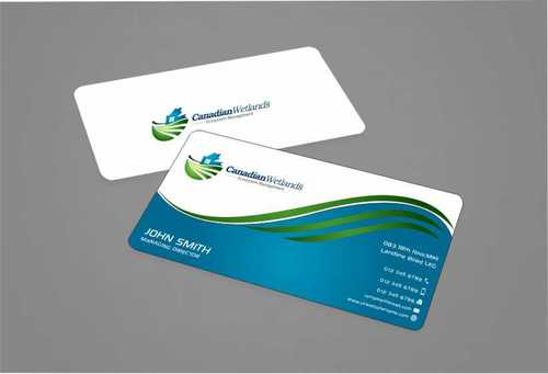 Canadian Wetlands Inc  eco system management Business Cards and Stationery  Draft # 141 by Dawson
