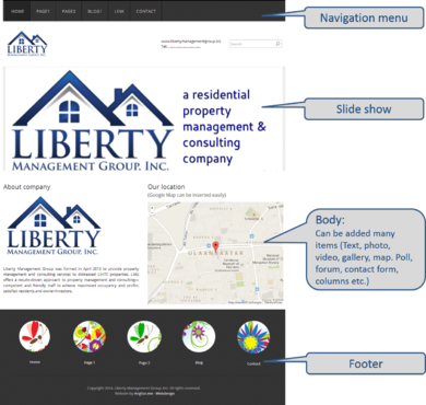 Liberty Management Group, Inc. Complete Web Design Solution  Draft # 121 by arigsor