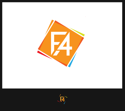 F4A.cz A Logo, Monogram, or Icon  Draft # 13 by Arsal23