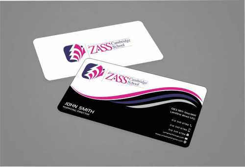 St. ZASS Cambridge School Business Cards and Stationery  Draft # 167 by Dawson