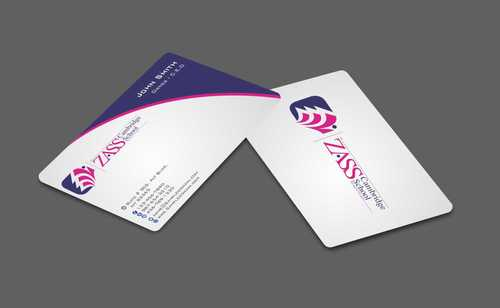 St. ZASS Cambridge School Business Cards and Stationery  Draft # 174 by Dawson