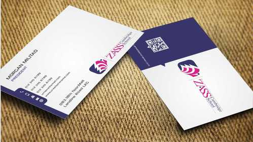 St. ZASS Cambridge School Business Cards and Stationery  Draft # 181 by Dawson