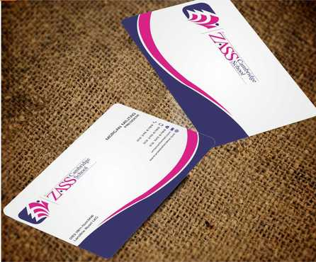 St. ZASS Cambridge School Business Cards and Stationery  Draft # 185 by Dawson