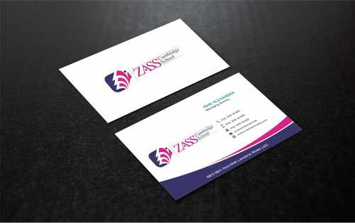 St. ZASS Cambridge School Business Cards and Stationery  Draft # 188 by Dawson