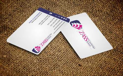St. ZASS Cambridge School Business Cards and Stationery  Draft # 192 by Dawson