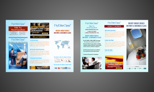 flyer designs need to be created in ai vector format Marketing collateral Winning Design by Kaiza