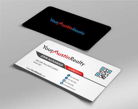 Your Austin Realty Business Cards and Stationery  Draft # 234 by DesignBlast