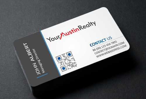Your Austin Realty Business Cards and Stationery  Draft # 250 by DesignBlast