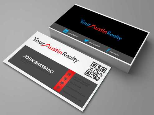 Your Austin Realty Business Cards and Stationery  Draft # 255 by DesignBlast