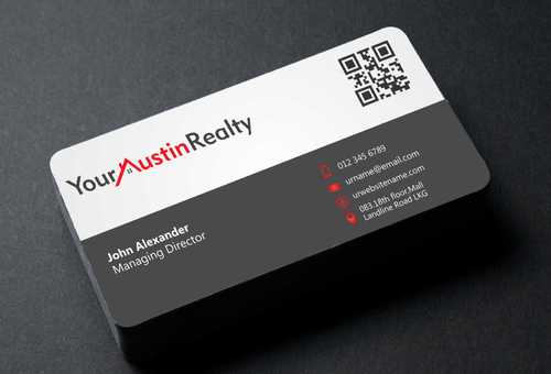 Your Austin Realty Business Cards and Stationery  Draft # 259 by DesignBlast