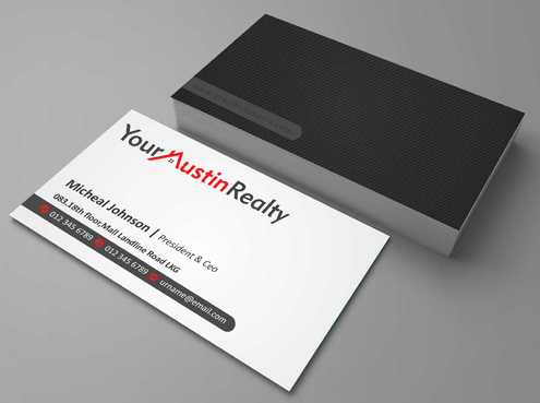 Your Austin Realty Business Cards and Stationery  Draft # 260 by DesignBlast