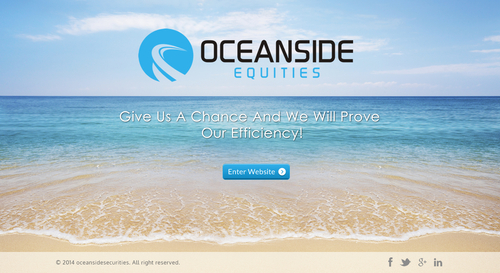 Oceanside Equities Inc.  Complete Web Design Solution Winning Design by itmech
