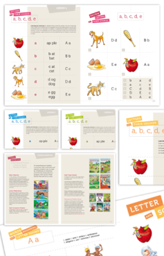 For Children learning to Read using Phonics Marketing collateral  Draft # 3 by alcoholix