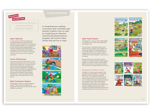 For Children learning to Read using Phonics Marketing collateral  Draft # 4 by alcoholix