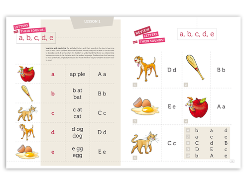 For Children learning to Read using Phonics Marketing collateral  Draft # 5 by alcoholix