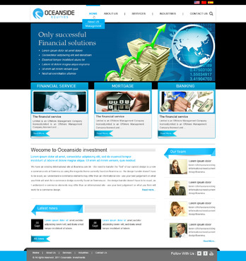 Oceanside Equities Inc.  Complete Web Design Solution  Draft # 44 by mamunrashid