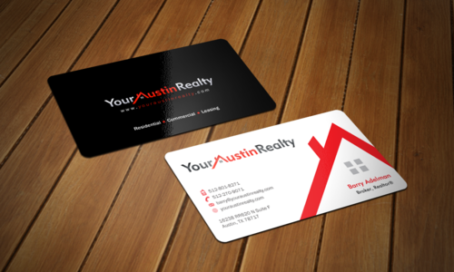 Your Austin Realty Business Cards and Stationery  Draft # 320 by einsanimation
