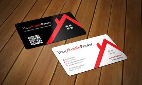 Your Austin Realty Business Cards and Stationery  Draft # 322 by einsanimation