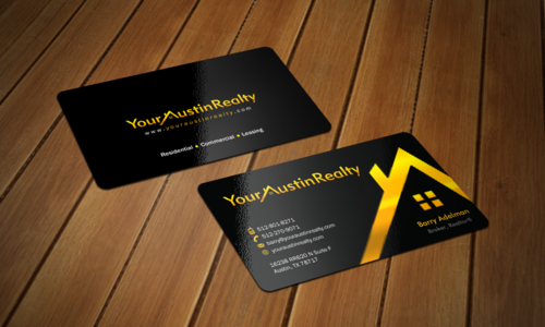 Your Austin Realty Business Cards and Stationery  Draft # 324 by einsanimation