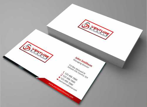 Logo and Stationary Competition Business Cards and Stationery  Draft # 174 by Dawson