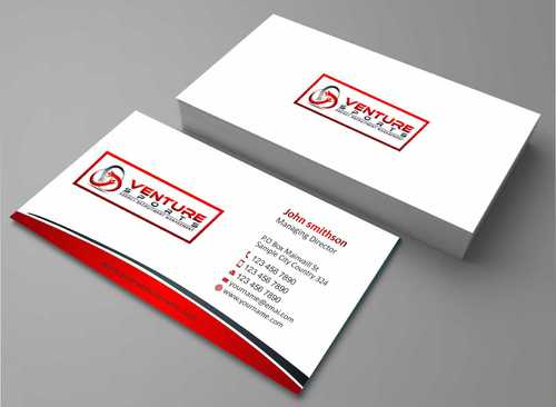 Logo and Stationary Competition Business Cards and Stationery  Draft # 175 by Dawson